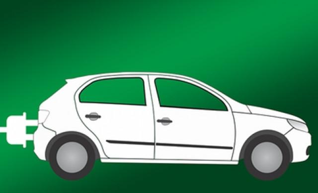 e-Auto an Ladesäule