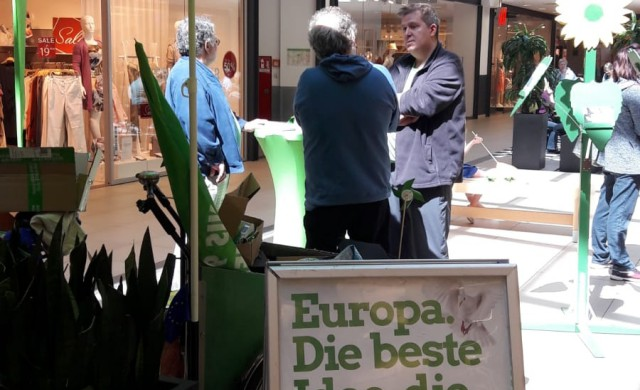 Wahlkampf Europawahl 2019