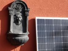 Auch ein kleines Modul auf dem Balkon kann Strom produzieren.